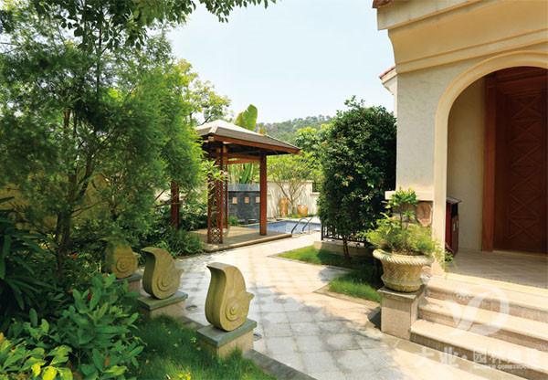 别墅园林绿化设计的要点