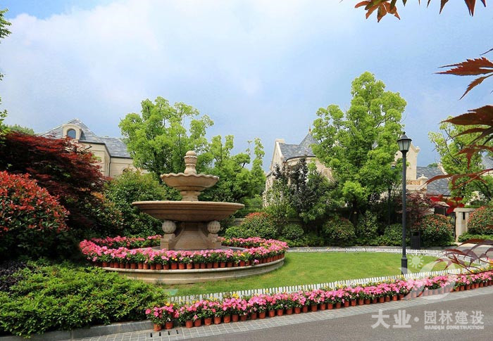 别墅园林绿化设计中夏季水景的养护